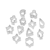Decorative Small Cookie Cutter Set