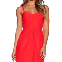 Amanda Uprichard Manhattan Dress in Red