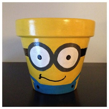 Despicable Me Minion Planting Pot