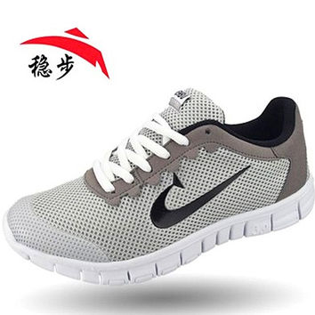 NEW fashion casual shoes for men and women breathable super light larger size 36-48 brand VENBU men shoes and women shoes