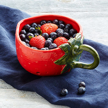 Berry Colander | Berry Bowl, Strawberry
