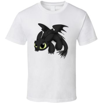 Toothless How to Train Your Dragon fantasy T Shirt