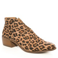 Animal Print Rachael V-Cut Booties