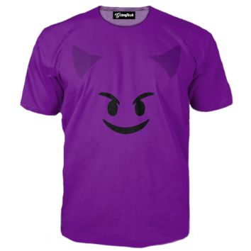 Emoji Purple Devil Tee