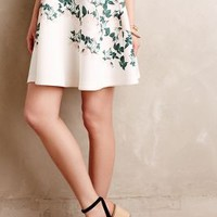 Sweetheart Roses Skirt by Erin Fetherston White