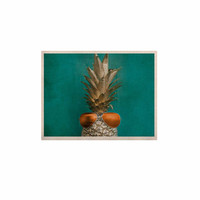 "Chelsea Victoria ""24 Karat Pineapple"" Gold Digital KESS Naturals Canvas (Frame not Included)"