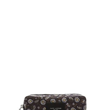 B.Y.O.T. Mixed Daisy Flower Large Cosmetics Case - Marc Jacobs