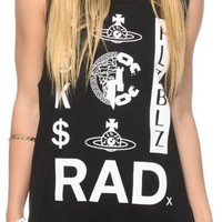 Crooks and Castles x Hellz Bellz Rad Muscle Tee