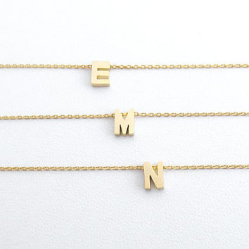 Personal, Capital letter, Upper case, Initial, Gold, Silver, Bracelet, Anklet, Lovers, Friends, Mom, Sister, Gift