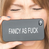 Brandy ♥ Melville |  Fancy As Fuck iPhone 4/4s Case - Accessories