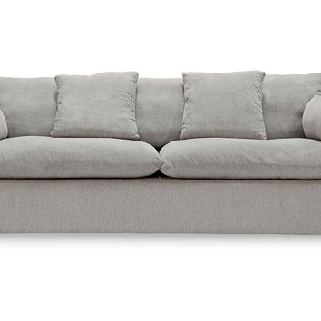 "Cameron 89"" Sofa, Light Gray, Sofas & Loveseats"