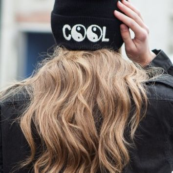 COOL EMBROIDERY BEANIE