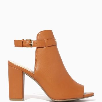 Brynn Peep Toe Booties | Fashion Apparel - Shoes | charming charlie