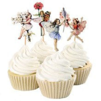 Life Ballerina Cupcake Toppers, Ballet, Dancers High Class For Parties, Weddings, Baby Showers (Pack of 24 Ballerinas)