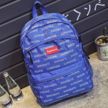 DCCKN7G Supreme Casual Laptop Bag Shoulder School Bag Backpack