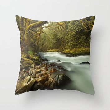 Brook Throw Pillow by Gallery One