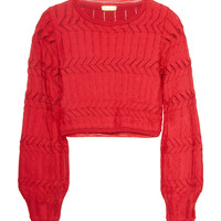 London Cropped Blouse | Moda Operandi