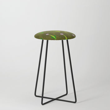 zappwaits Flower Counter Stool by netzauge