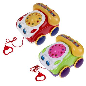 Baby Telephone Learning Fun Music Toy