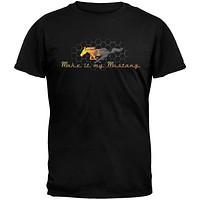 Ford - Make It My Mustang Black T-Shirt