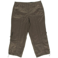 Style & Co. Womens Twill Cargo Capri Pants