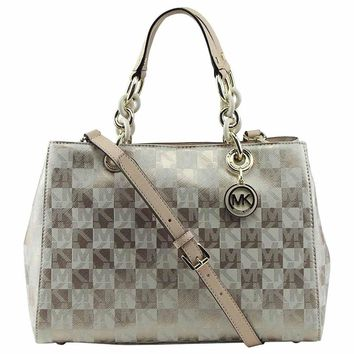 MICHAEL Michael Kors Women's Cynthia Medium Satchel Bag