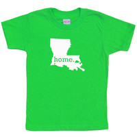 KIDS Louisiana Home Tee Shirt TShirt  MORE COLORS by HomelandTees