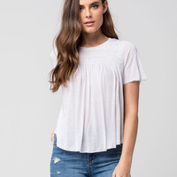 FREE PEOPLE Dani Womens Tee | Knit Tops + Tees