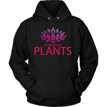 Powered By Plants Vegetarian, Vegan Hoodie