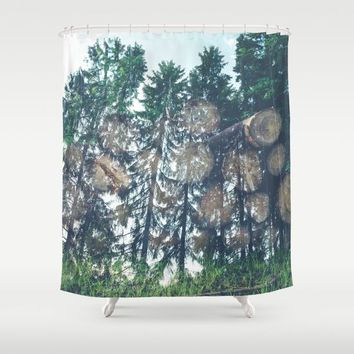 Wild Shower Curtain by Gallery One