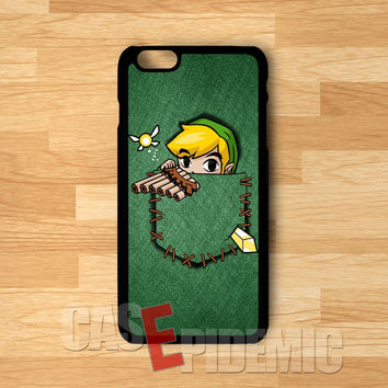 Pocket Link the Legend of Zelda -3 for iPhone 6S case, iPhone 5s case, iPhone 6 case, iPhone 4S, Samsung S6 Edge