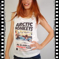 Arctic Monkeys La Cigale Paris Pop Punk Rock by noshirtnohoney