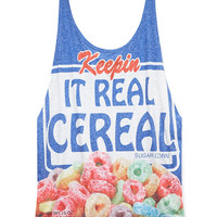 Real Cereal Tank