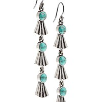 Lucky Brand Linnear Earrings Womens - Silver (One Size)