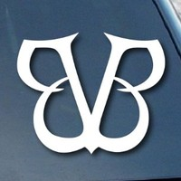 "Black Veil Brides Car Window Vinyl Decal Sticker 4"" Wide (Color: White)"
