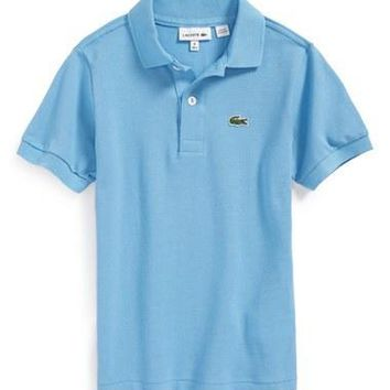 Toddler Boy's Lacoste Pique Polo Shirt