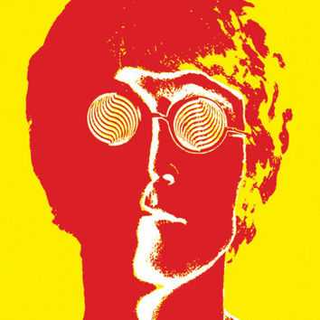John Lennon Pop Art Poster