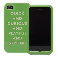 kate spade | quick and curious iphone 4 case