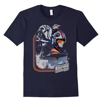 Star Wars Vader Luke Father Son Cloud City Montage T-Shirt
