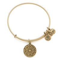 Alex and Ani New Beginnings Charm Bangle - Rafaelian Gold Finish