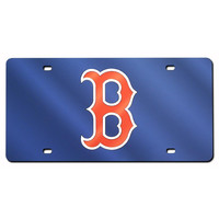 Boston Red Sox MLB Laser Cut License Plate Cover