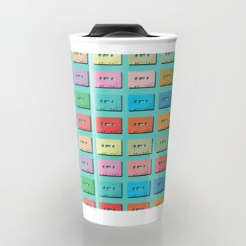 Wall of Sound Travel Mug by picturing juj