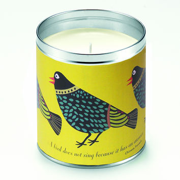Birds Singing Candle
