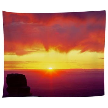 Sunrise Over Grand Canyon Tapestry