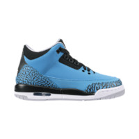 Air Jordan 3 Retro (3.5y-7y) Kids' Shoe, by Nike Size 3.5Y (Blue)
