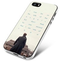Bbc Sherlock Quote Benedict Cumberbatch iPhone 5 | 5S | 5SE Case Planetscase.com