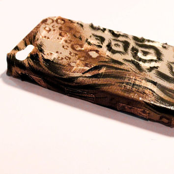 Animal Print Sheen iPhone 4 Case