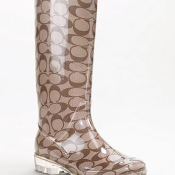 COACH PIXY RAINBOOT - Winter & Rain Boots - Shoes - Macy's