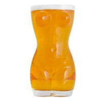 Beer Glass - Busty Babe and Booty Design