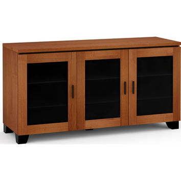 Elba 65 Inch TV Stand Cabinet Extra Tall American Cherry
